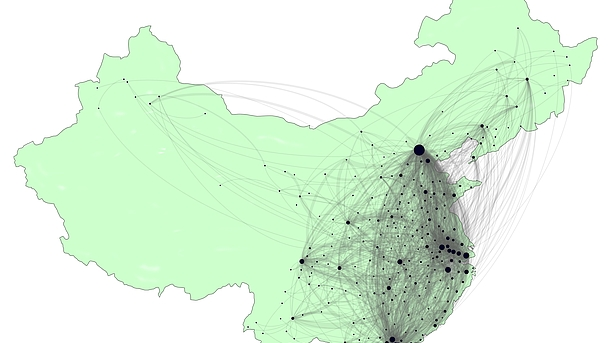 © S. Losacker: Interregionale Innovationsdiffusion in China / Inter-regional innovation diffusion in China